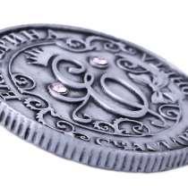 Именная монета - сувенир Екатерина и бархатный мешочек, в Перми
