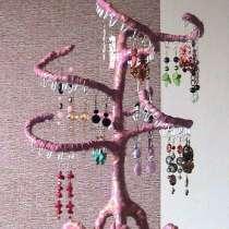 Подставка для серег «Розовое Дерево» ручной работы, в г.Минск