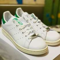 Кеды Adidas Stan Smith Swarovski White Green, в Москве
