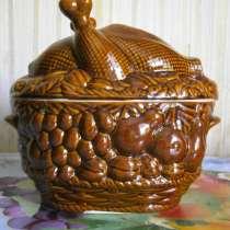 Утятница керамика новая, в Москве