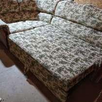 Диван угловой с креслом после химчистки, в Майкопе