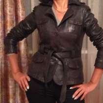 Куртка кожаная ОАЭ, в Москве