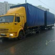 Продаю автопоезд КАМАЗ 4308 с прицепом, в Москве
