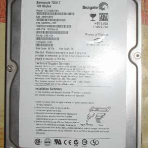 Жесткий диск Seagate Barracuda 7200.7 120 Gb, в Волгограде
