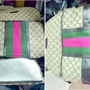 Сложный ремонт рюкзаков, чемоданов, портмоне, сумок, клатчей, в Москве