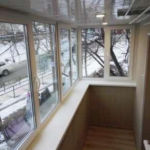 Остекление внутренняя отделка лоджии и балконов, в Самаре
