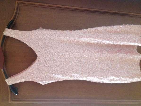 Нежно розовое платье (ушито паетками)