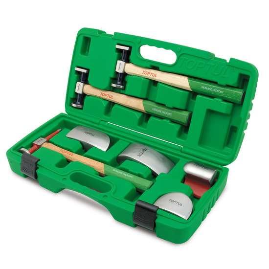 Набор рихтовочных инструментов для кузовных работ GAAI0702
