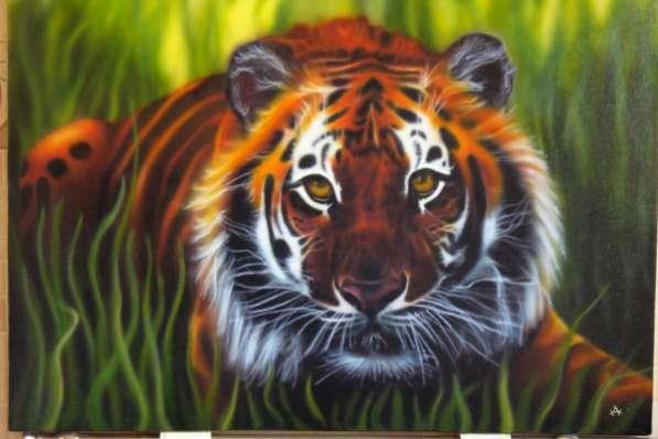 Картину тигр