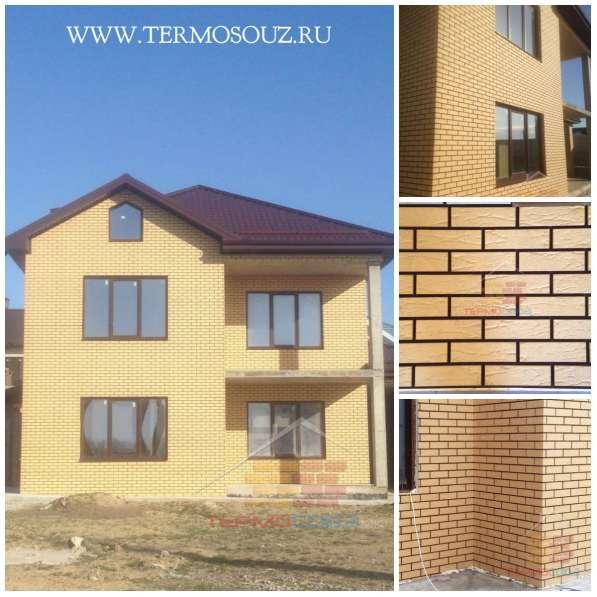 Фасадные клинкерные термопанели от производителя в Краснодаре фото 8