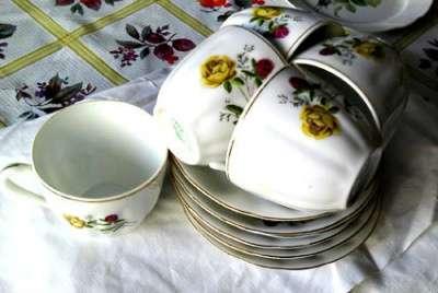 Чайные пары (Китай), стаканы (Богемия)