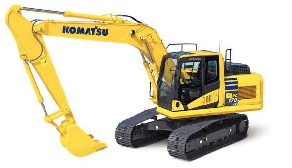 Запчасти на экскаваторы Komatsu (Коматцу)