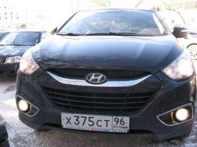 автомобиль Hyundai ix35
