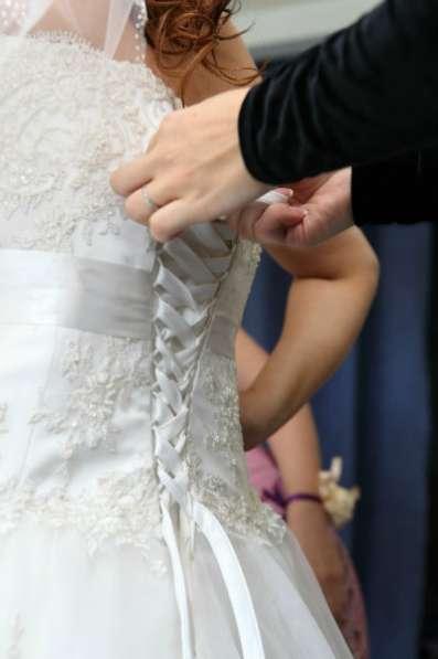 свадебное платье ==