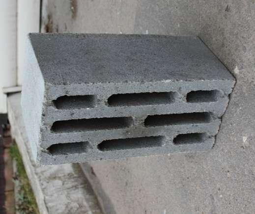 Керамзито-бетонный восьмищелевой блок в Орехово-Зуево