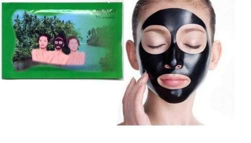 Чёрная очищающая маска