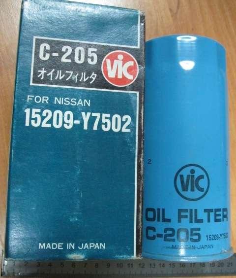 Фильтр масляный C-205 VIC