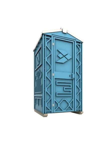 Новая туалетная кабина Ecostyle - экономьте деньги! Афины
