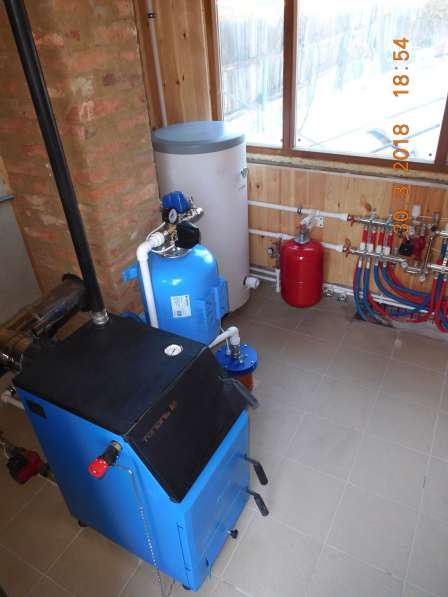 Монтаж систем отопления, водоснабжения, канализации в Омске фото 16