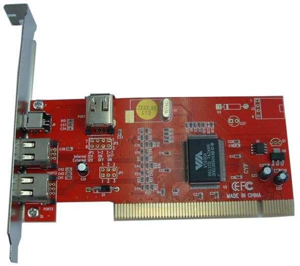 FireWire контроллер PCI