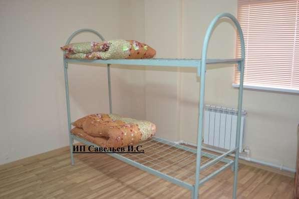 Металлические кровати эконом класса. Бесплатная доставка! в фото 4