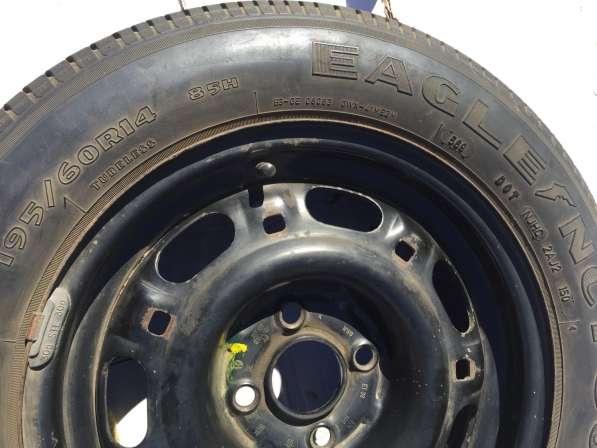 Запасное колесо с диском Фольксваген пассат б/у