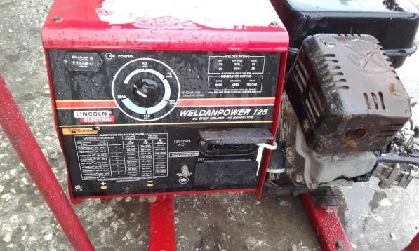 Продаю передвижной электросварочный агрегат Линкольн б/у в Пензе