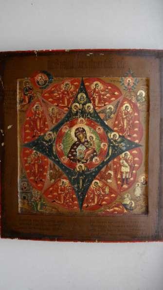 Икона М.Божья «Неопалимая Купина». 19 в.