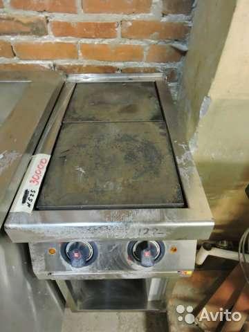 торговое оборудование Плита 2х-конфорочная
