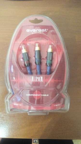 Компонентный кабель 3RCA 3RCA
