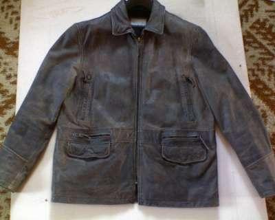 кожаная мужская куртка BERGHAUS