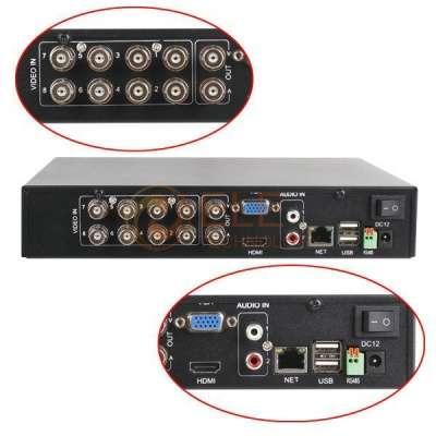 8-кан видеорегистрор HDMI 3G Wi-Fi
