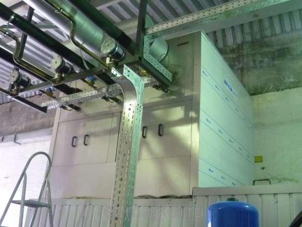 Установки ледяной воды и льдоаккумуляторы