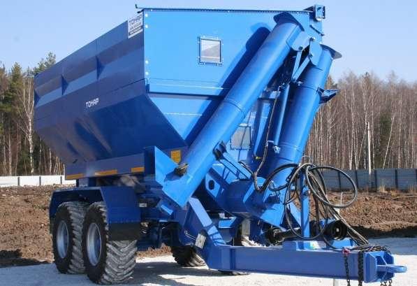 Бункер-перегрузчик для зерна Тонар ПТ5