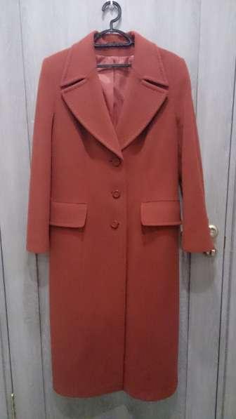 Пальто практически новое шерсть+кашемир