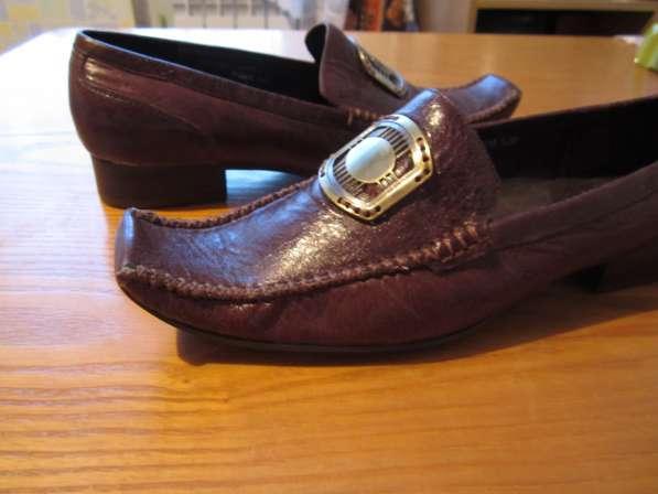 Туфли коричневого цвета в Новосибирске