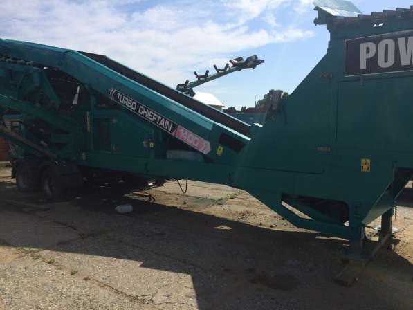 Грохот POWERSCREEN® CHIEFTAIN 1400 2010г. CHIEFTAIN 1400