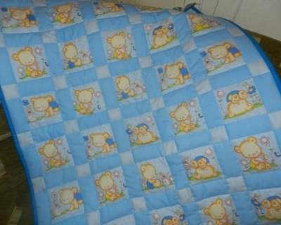 Предложение: Детское лоскутное одеяло в кроватку.