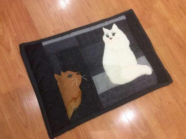 Шью коврики для домашних животных