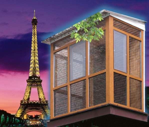 Остекление балконов, лоджий в Туле и области
