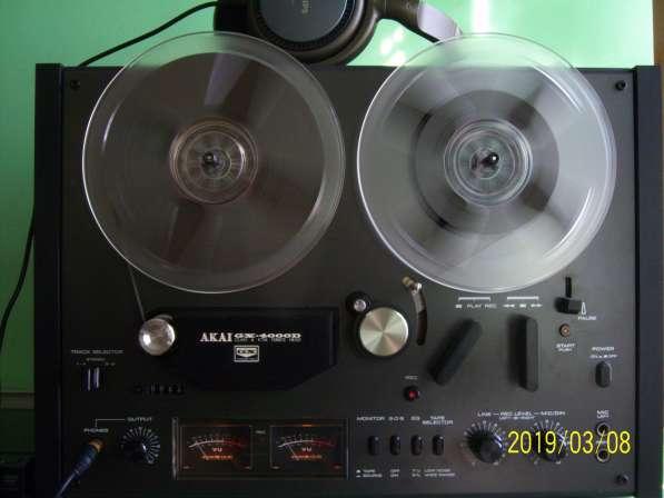 Магнитофон AKAI GX4000D бобинник, катушечный, Япония,220v в Екатеринбурге фото 11
