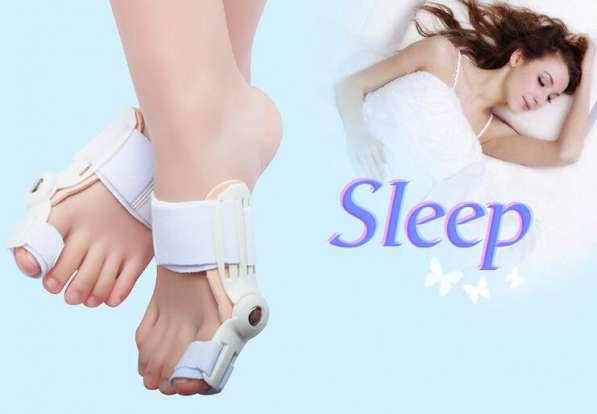 Шины/ортезы ночные подвижные для халлюс-вальгус