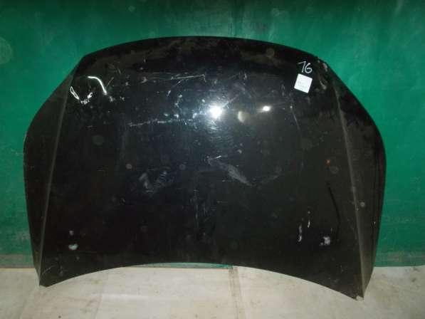 Капот на Volkswagen Tiguan черный