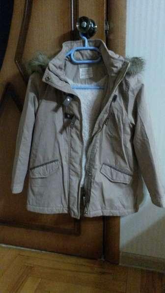 Куртка девочке