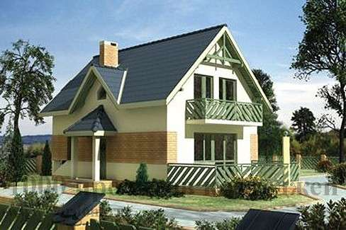 Строительство двухэтажного кирпичного дома 6,6x9,9