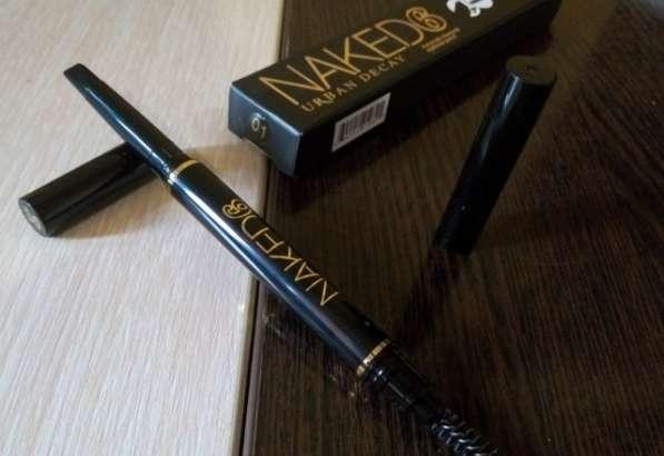 Naked 6 2 in 1 Waterproof Eyebrow Pensil для бровей