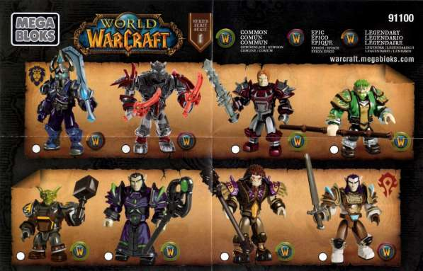 World of Warcraft Mega bloks