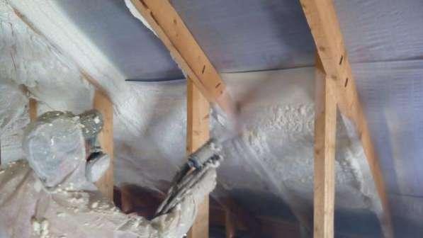 Утепление домов, ангаров и других строений