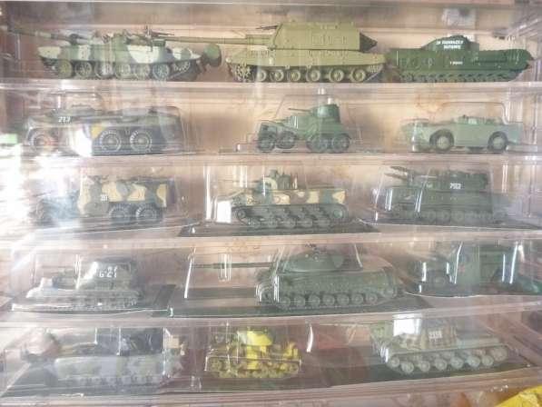 Коллекция военной техники (тяжелое вооружение и танки)