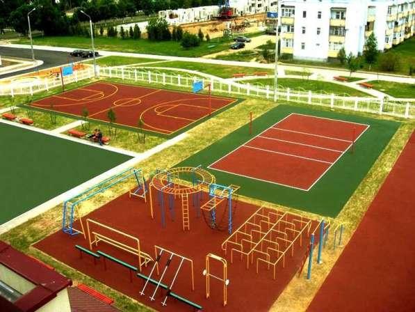 Строительство спортивных, игровых и детских площадок